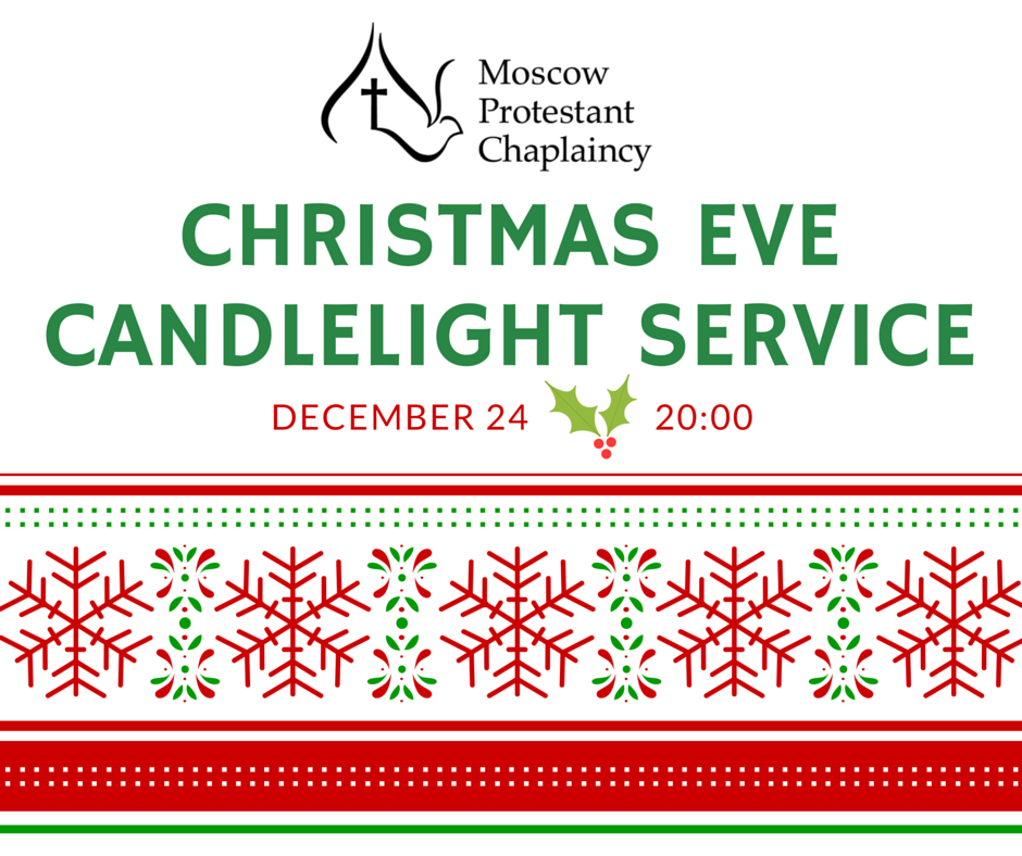 MPC Christmas Eve service, 20:00