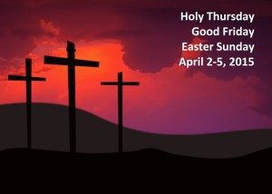Three Crosses Easter 2015